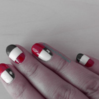 HCH black-white-red