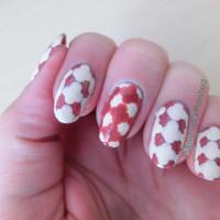 Step 3 - dots in a cross-shape